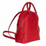 backpack red trussardi-1