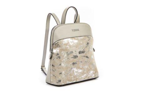 silver backpack verde