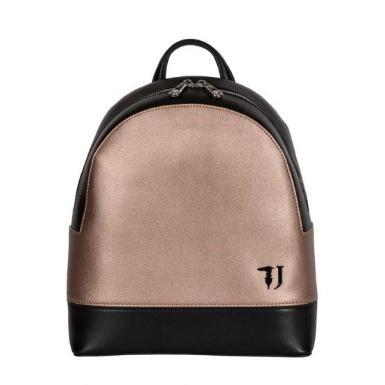 trussardi jeans backpack bronze