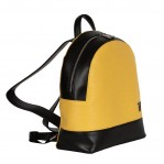 trussardi jeans backpack yellow-1