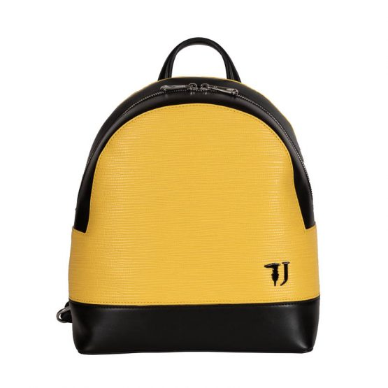 trussardi jeans backpack yellow