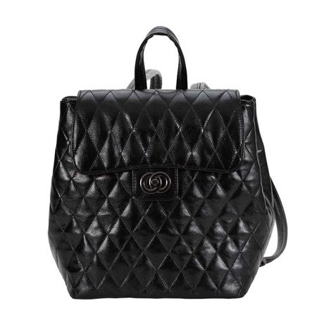 backpack black greek handmade