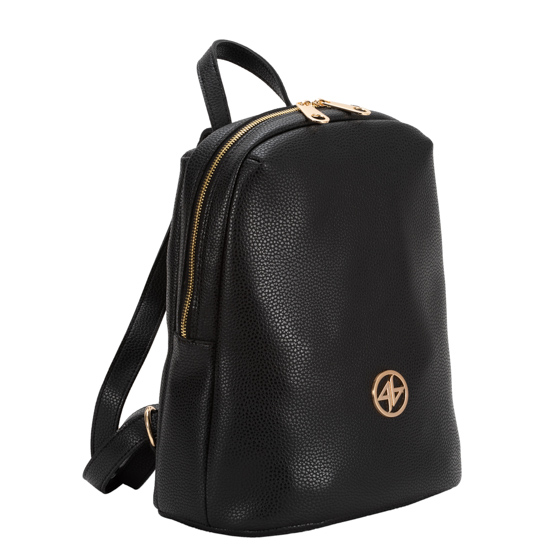 Greek handmade backpack black-1