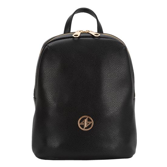 Greek handmade backpack black