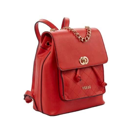backpack verde red-Ν