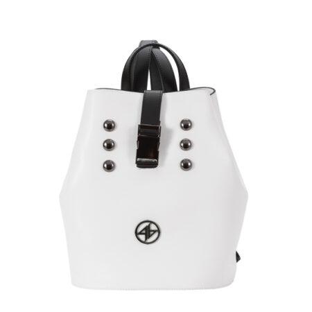 backpack aspro mavro greek handmade