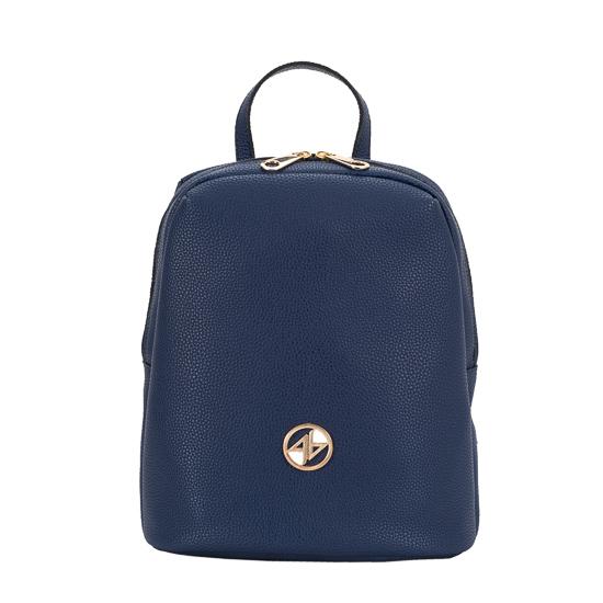 backpack blue greek handmade