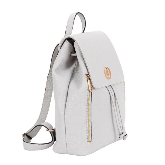 backpack grey greek handmade-1