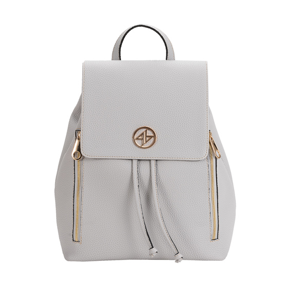 backpack grey greek handmade