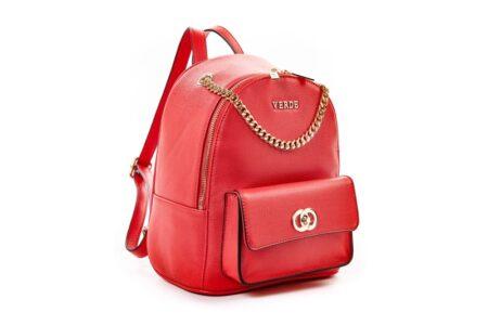 verde backpack red