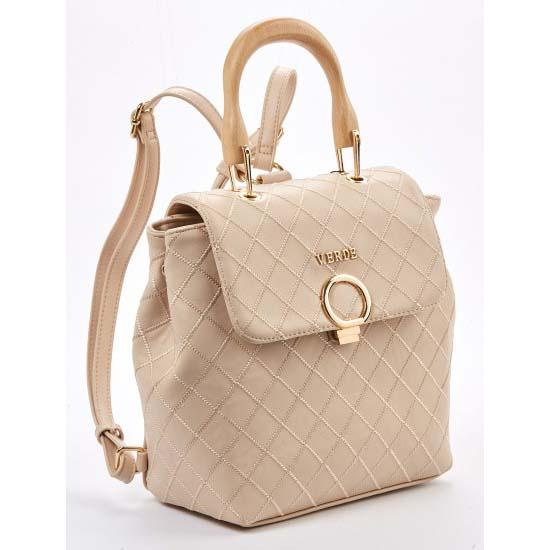 beige backpack verde-1