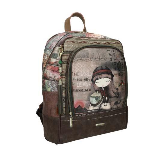 anekke backpack megalo brown