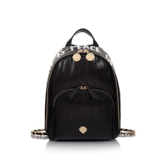 backpack black le pandorine