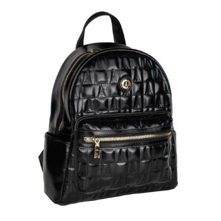 backpack black loustrini-1