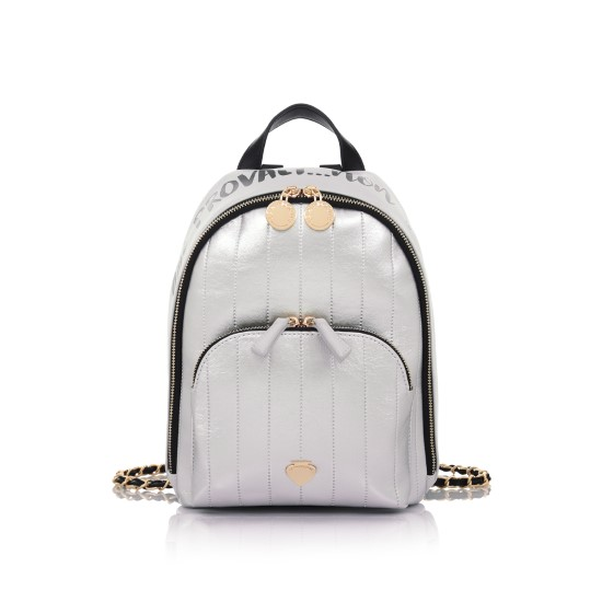 backpack silver le pandorine