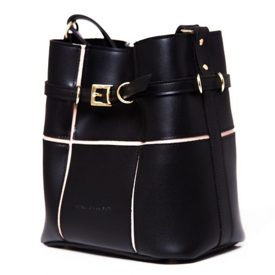 ΤΣΑΝΤΑ PUZZLE BAG BLACK LARGE-ELENA ATHANASIOU