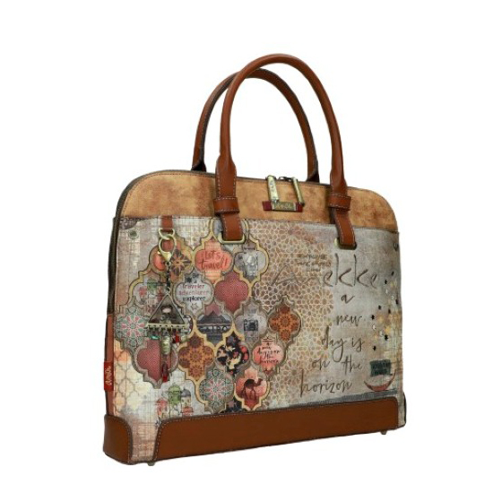 tsanta epaggelmatiki brown anekke bags
