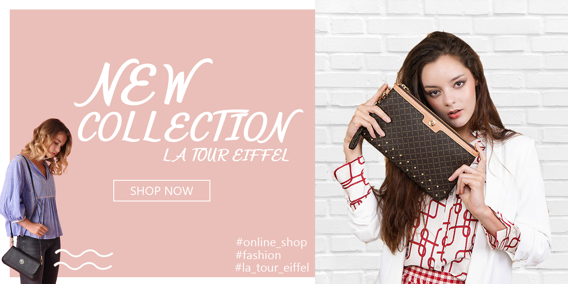 NEW COLLECTION LA TOUR EIFFEL ΤΣΑΝΤΕΣ 4BAG