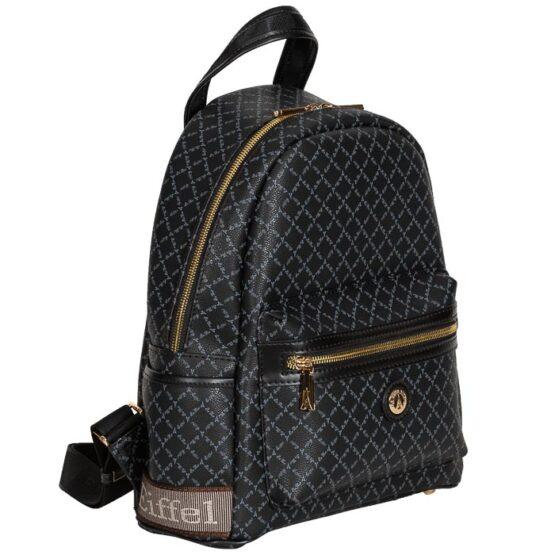 black backpack la tour eiffel-1