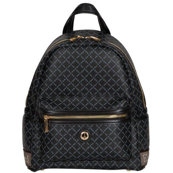 black backpack la tour eiffel