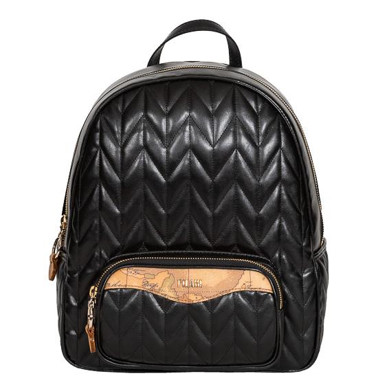 backpack black alviero