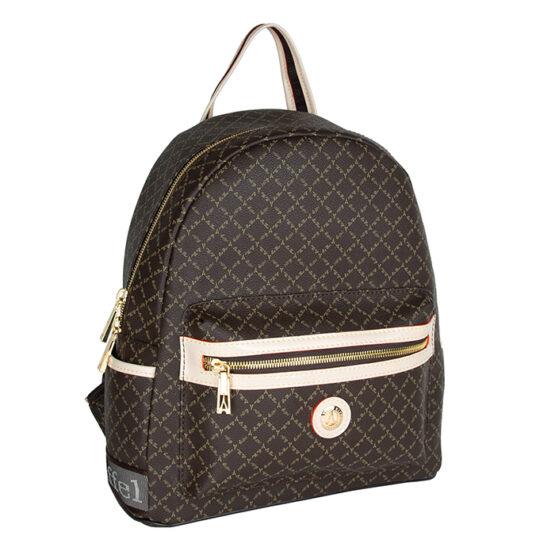 brown backpack mesaio