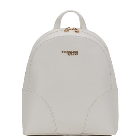 tsanta platis backpack trussardi white