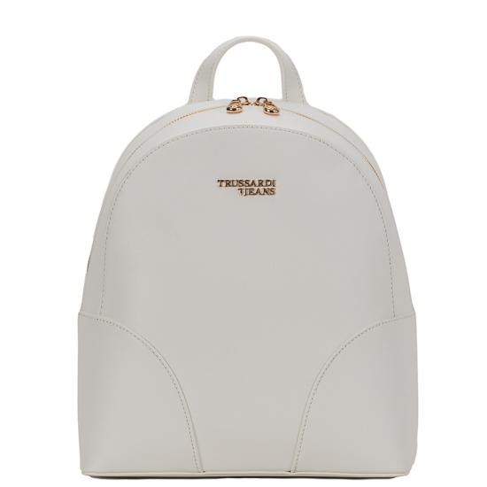 tsanta platis backpack trussardi white