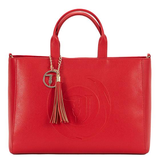 tsanta shopping trussardi red