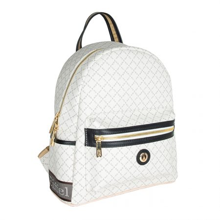 white backpack mesaio