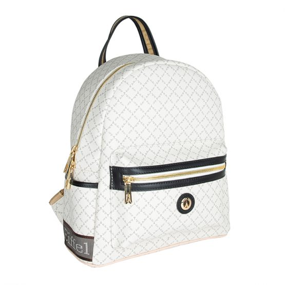 white backpack mesaio