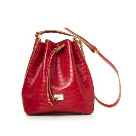 pouch bag red ea