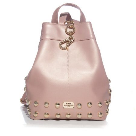 backpack elena athanasiou metallic pink