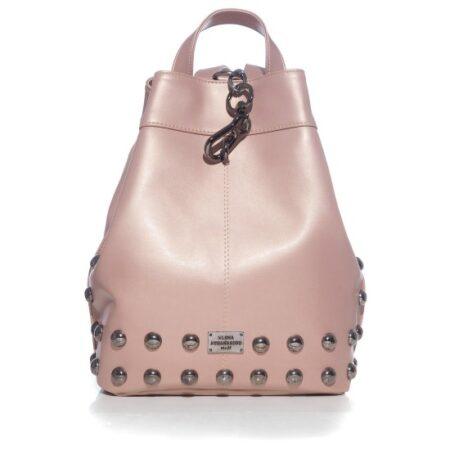 backpack pink nikel ea bags