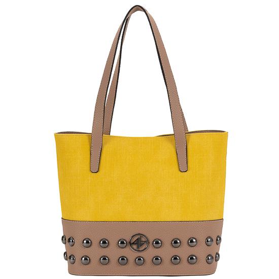 tsanta omou greek handmade yellow
