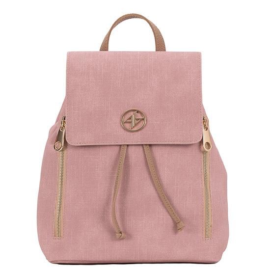backpack ροζ greek handmade