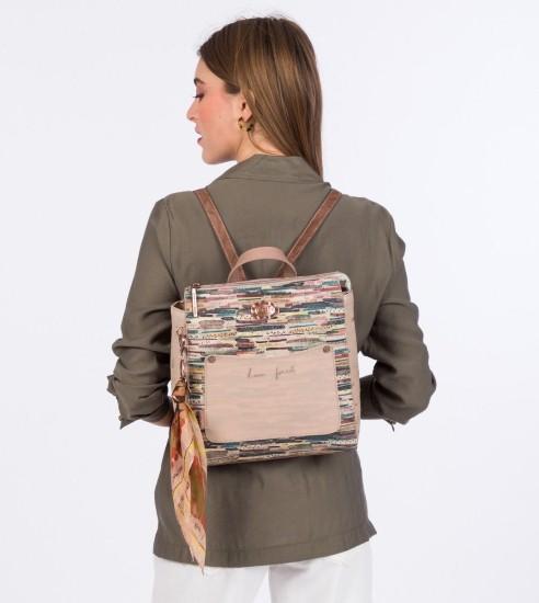 backpack beige anekke-1