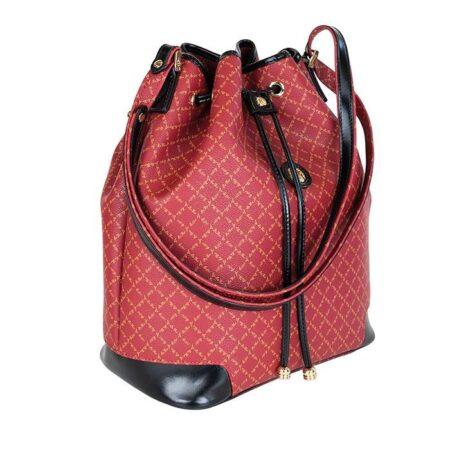tsanta pougi omou red bags