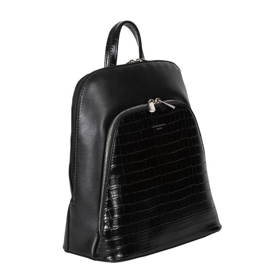 backpack black david jones-1