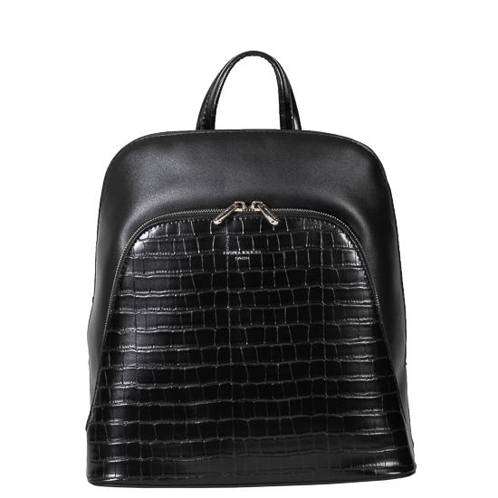 backpack black david jones