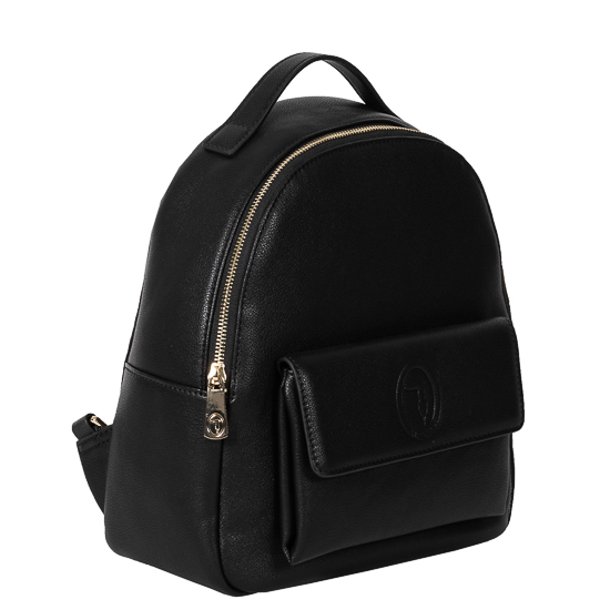 backpack black mesaio Trussardi-1