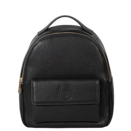 backpack black mesaio Trussardi