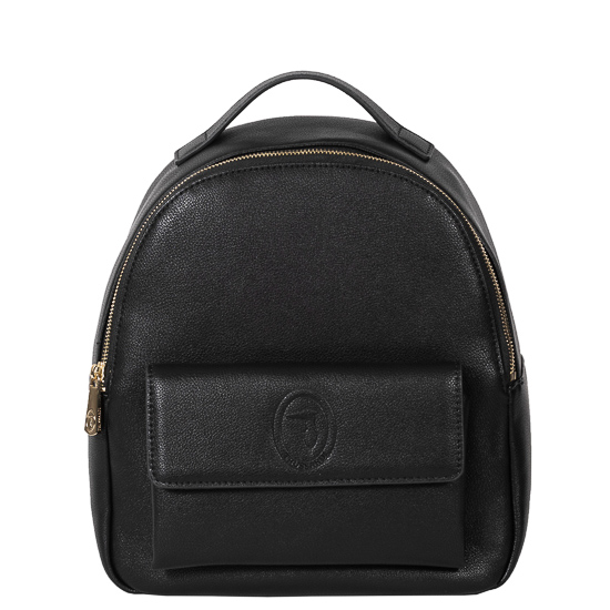 backpack black mesaio Trussardi