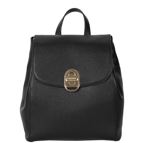 backpack trussardi black