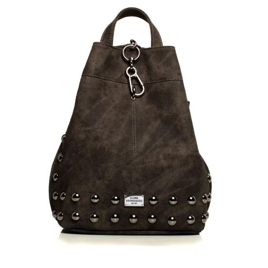 backpack grey nikel