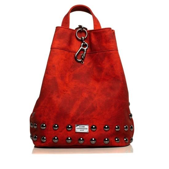 backpack jean pattern red-nikel