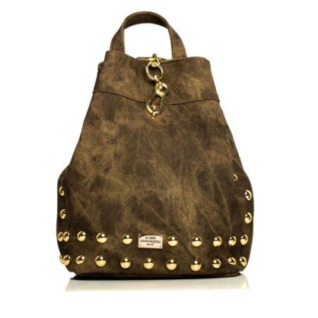 backpack olive gold