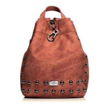 backpack pink nikel