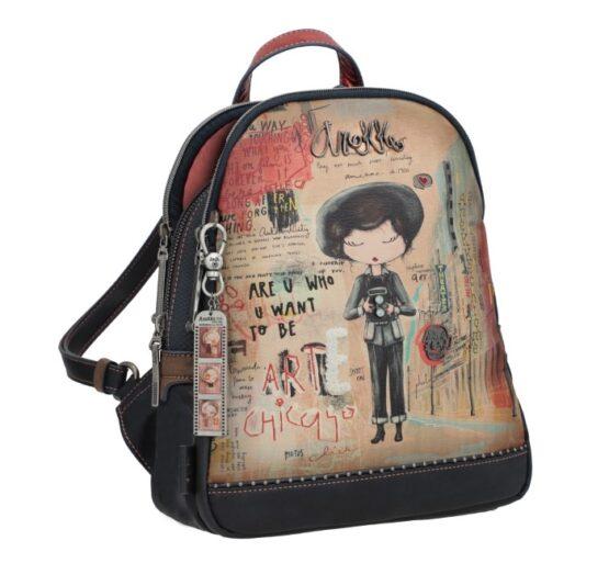 backpack blue-red anekke
