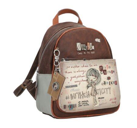 brown backpack anekke
